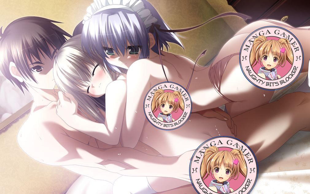 Yup, there's totally a threesome scene. You know you want to see it!